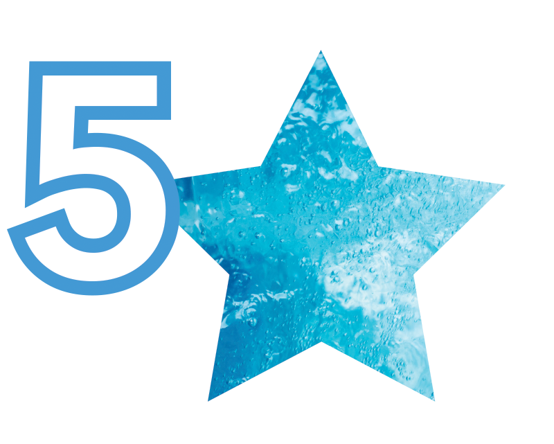 5 Star Logo and Icon