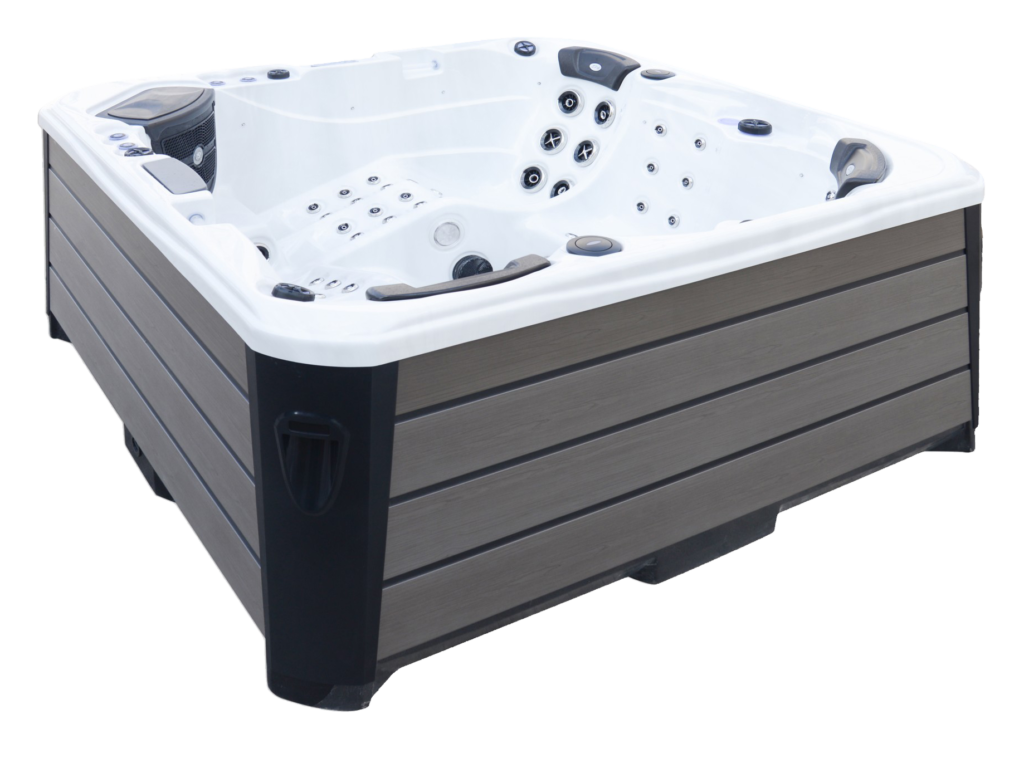 Infinity Hot Tub Side Image