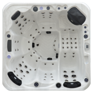 Platinum Spas Infinity Hot Tub Top View