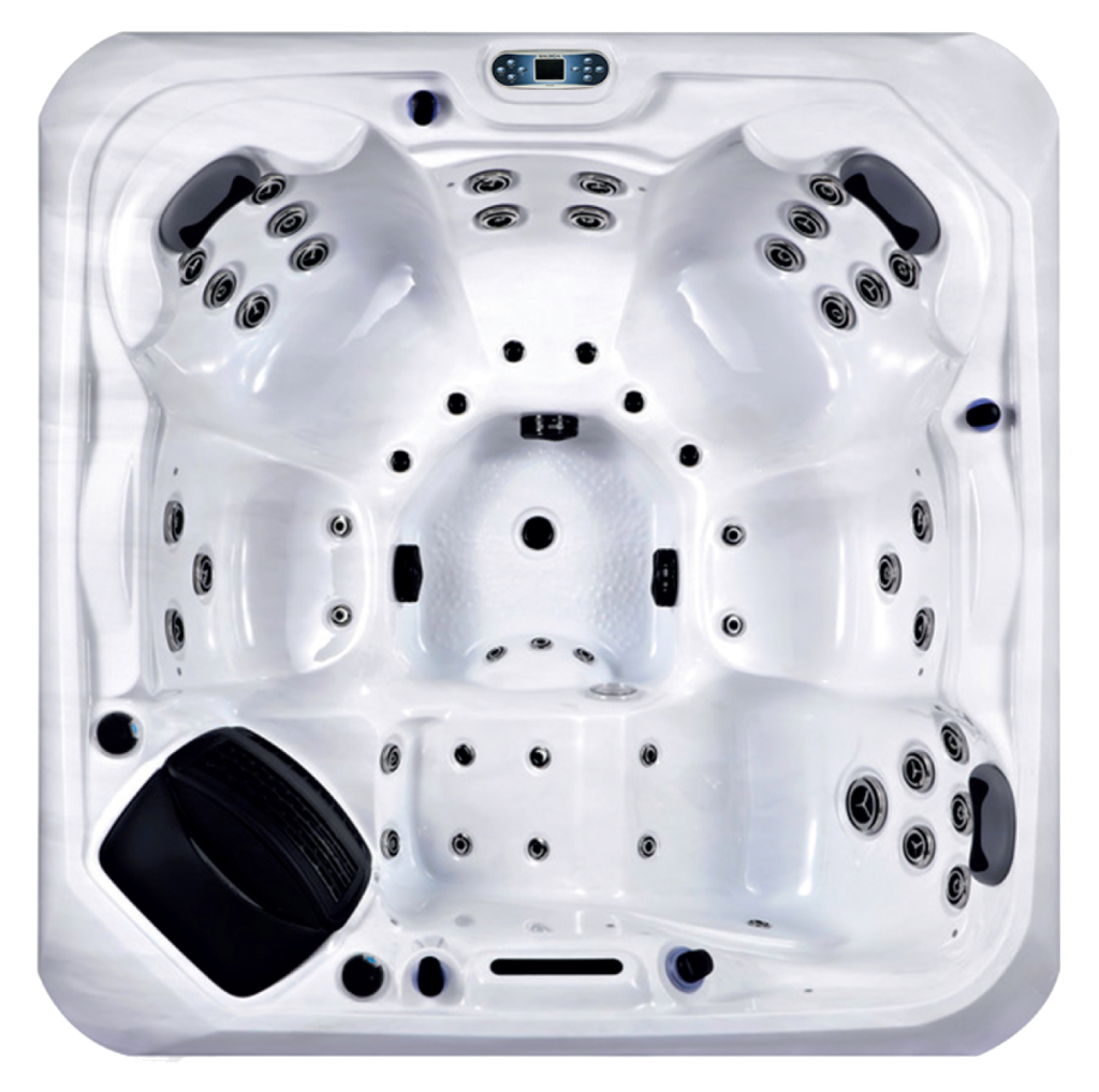 Platinum Spas Santorini Hot Tub - Top View