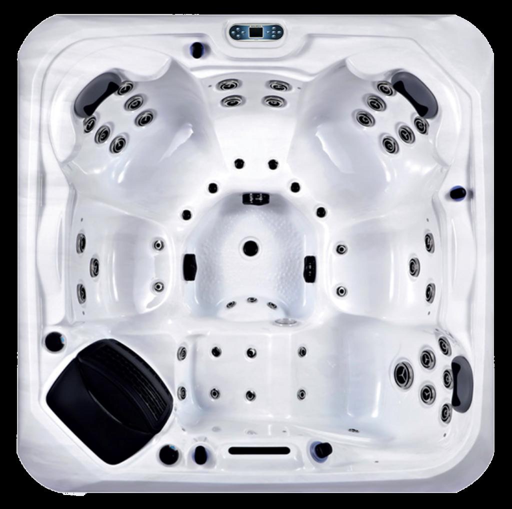 Platinum Spas Santorini Hot Tub - Top View