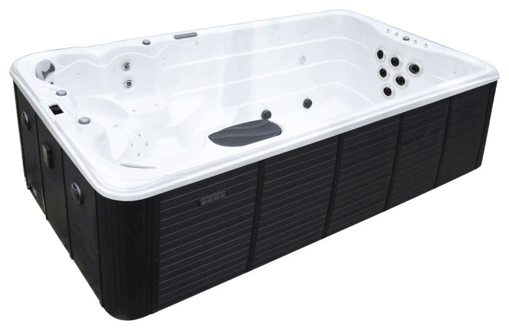 Ares Swim Spa side view