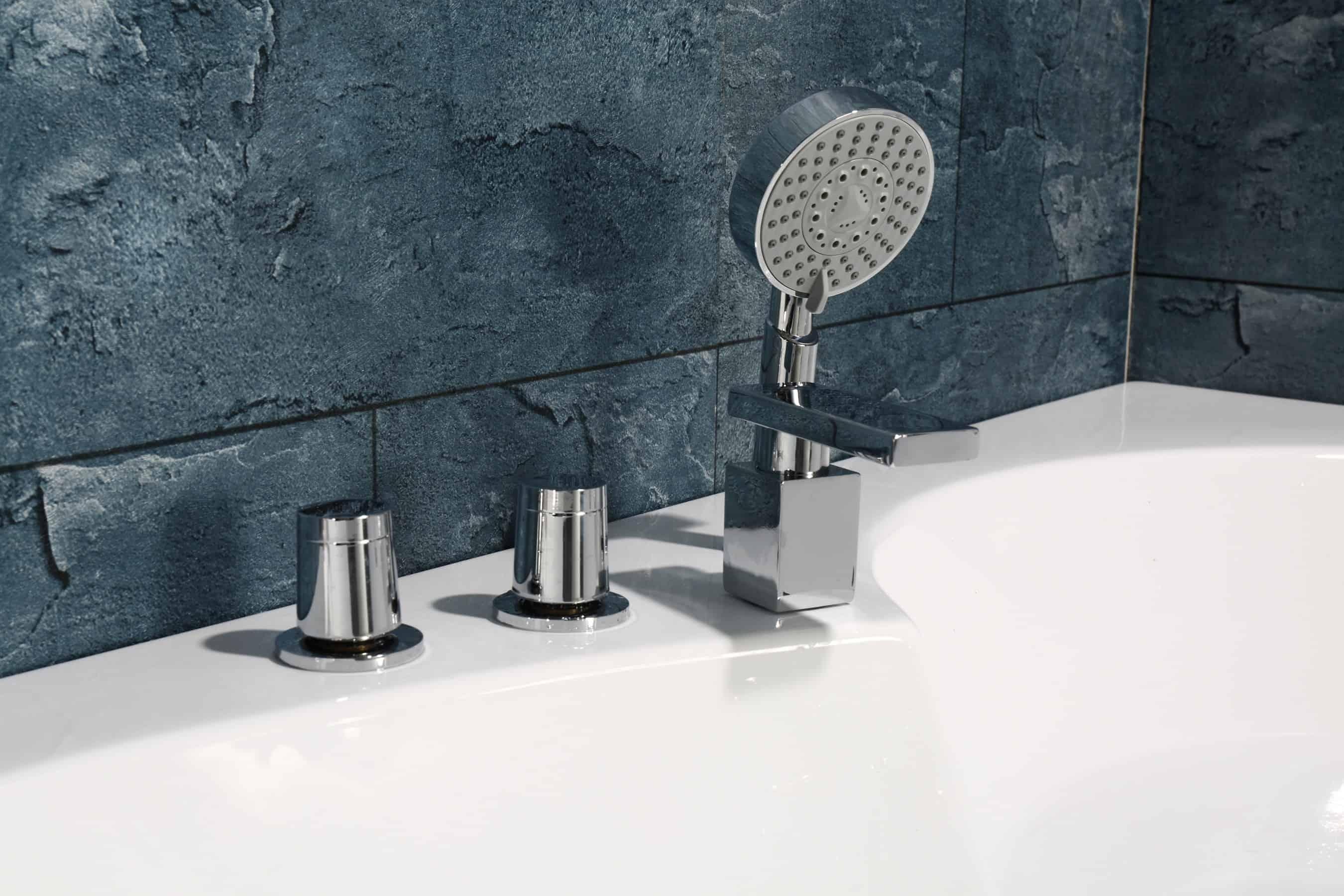 Sicily Bath shower features