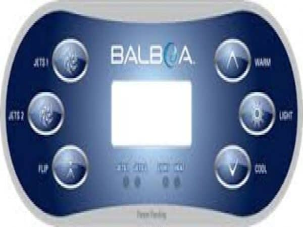 Balboa TP600 Control panel Aux/Flip
