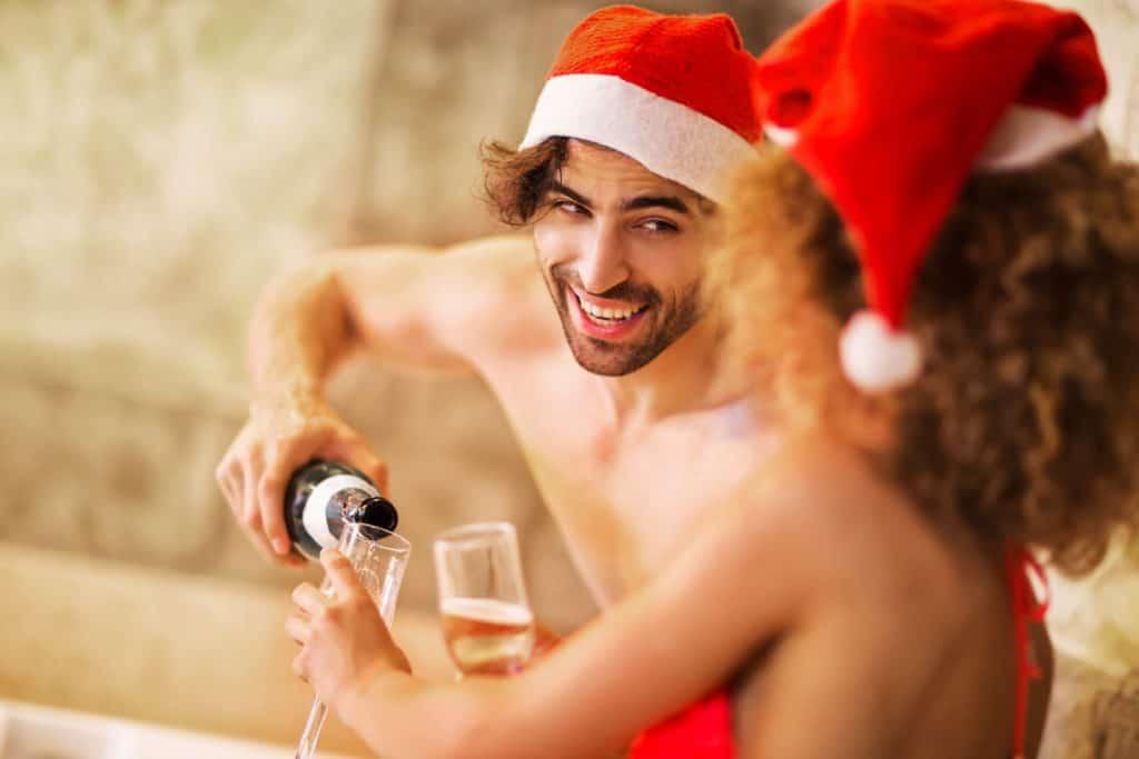 Hot Tub Christmas