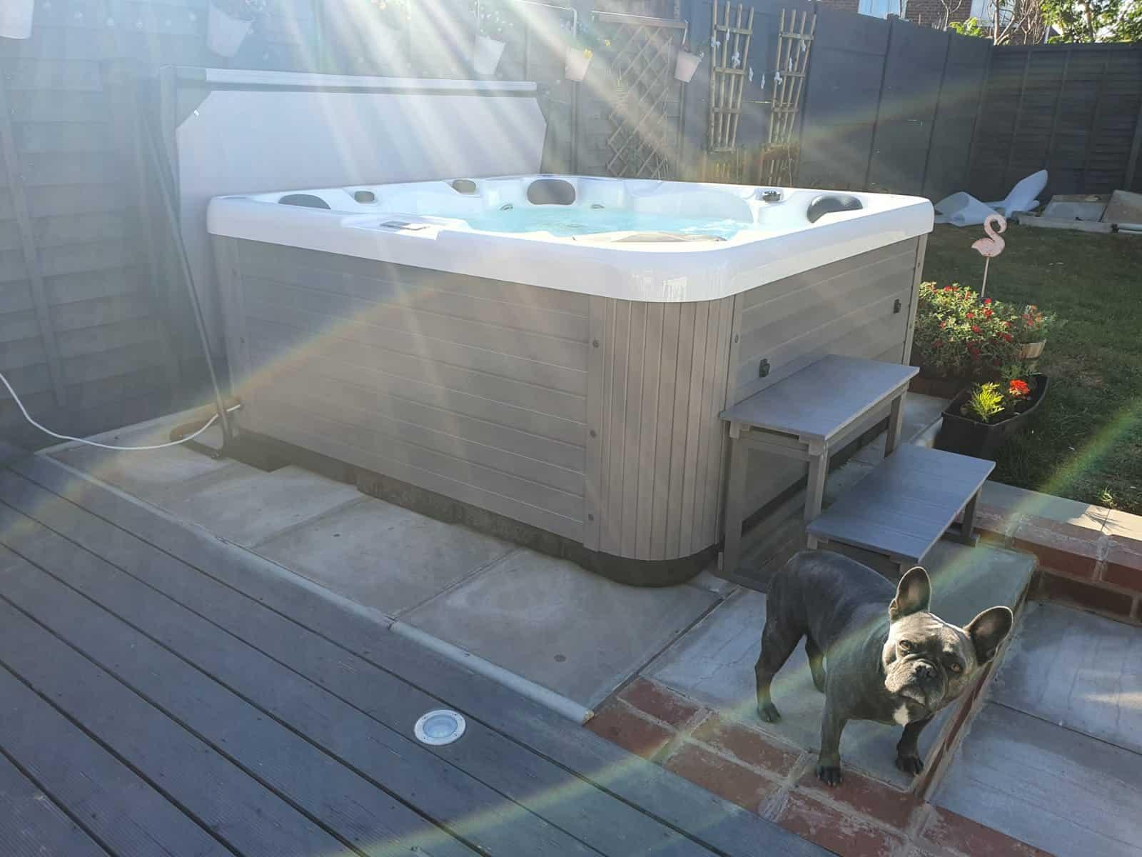 trident hot tub