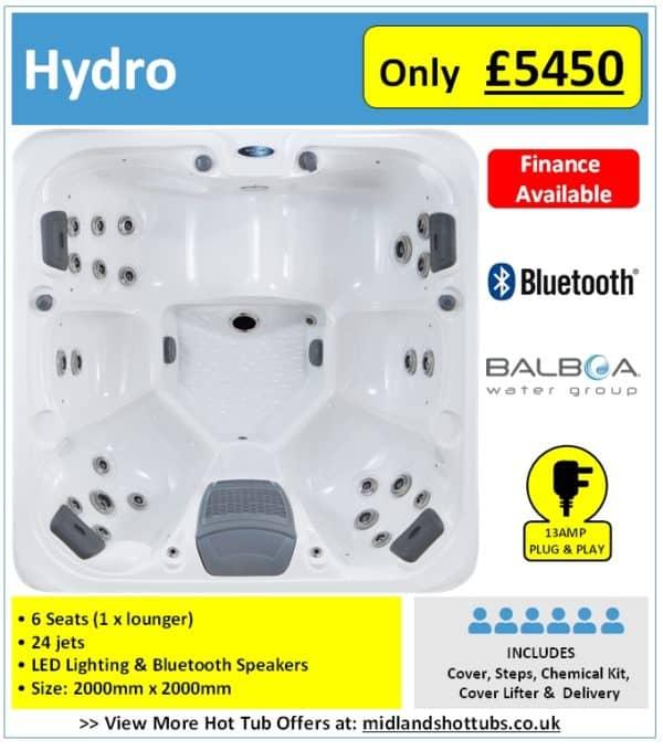 hydro hot tub advert