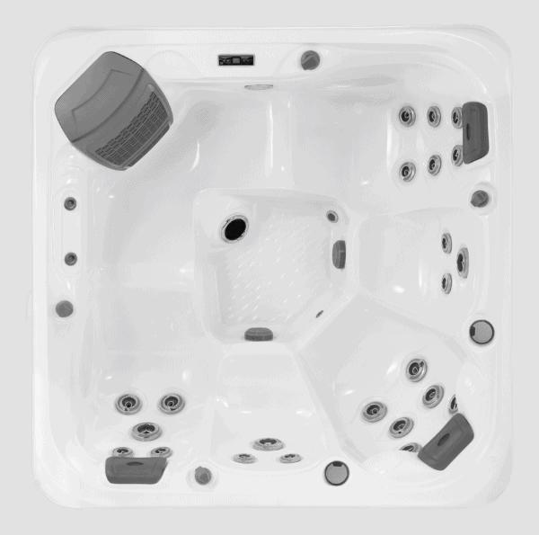 Ocean hot tub